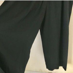 Vintage Pants - 90's VTG MOLLY MALLOY Women's Black Jumpsuit